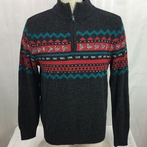 Urban Pipeline 1/4 Zip Knit Long Sleeve Sweater